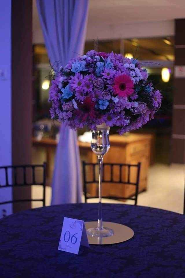 Flores artificiais no casamento - 1
