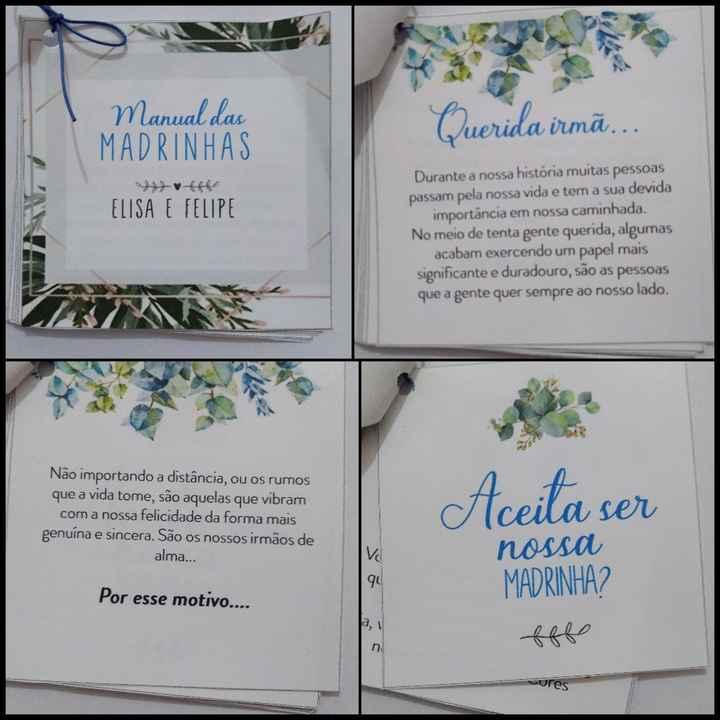 Caixa convite - Manual dos Padrinhos diy - 3