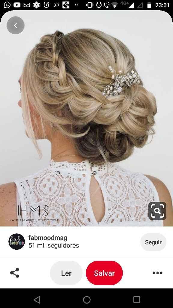 Penteados da noiva - 1