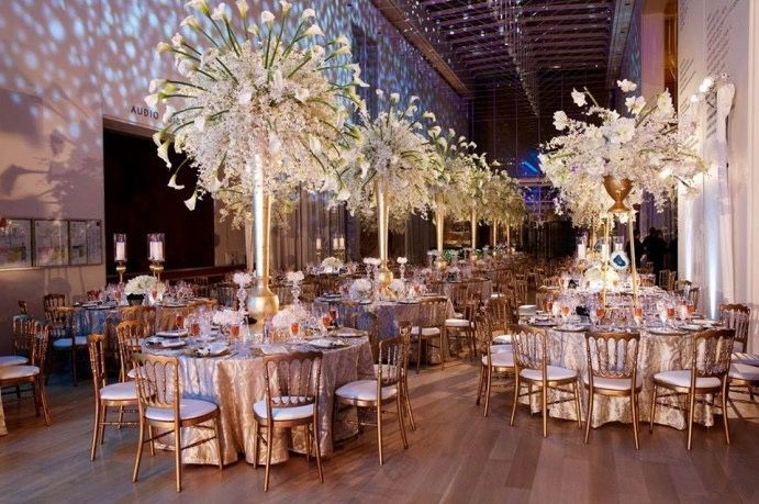 Luxury Wedding Indoor: Decoradora