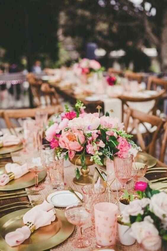 Como incluir rosa na decoração do casamento! #outubrorosa - 1