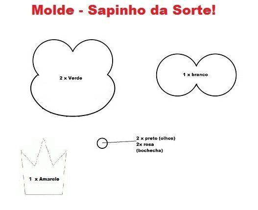 Chaveiro Sapinho Eva