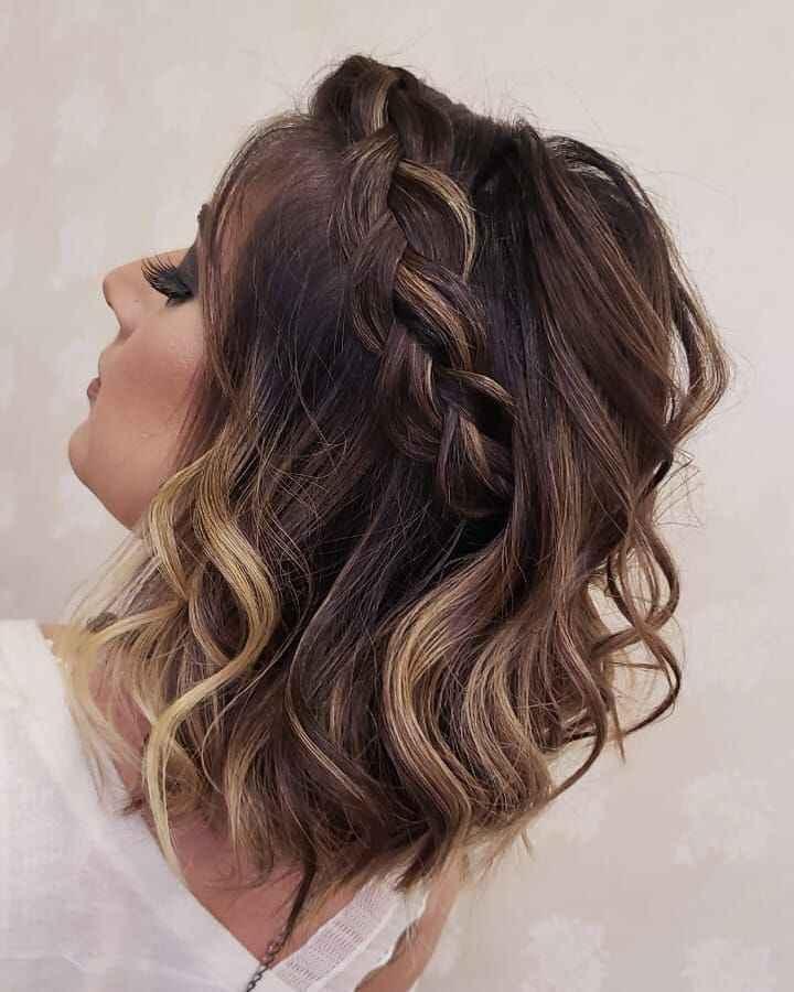 Casar com cabelo curto - 2