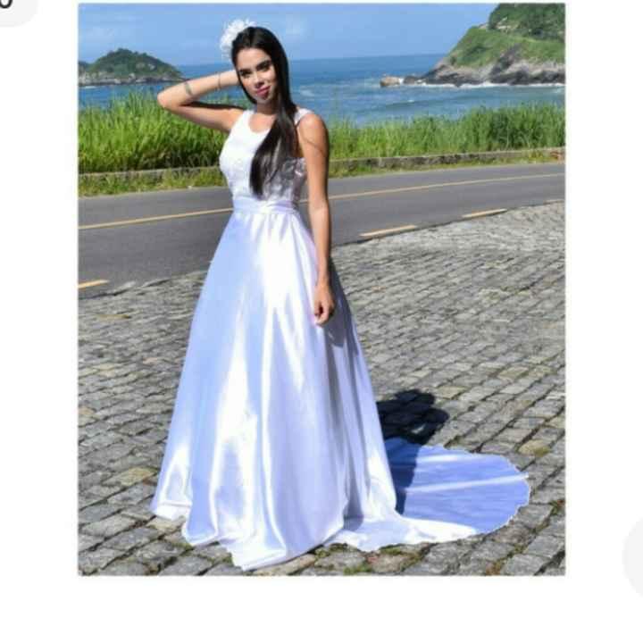 Comprar vestido ou alugar??? #diariodanoiva1 - 5