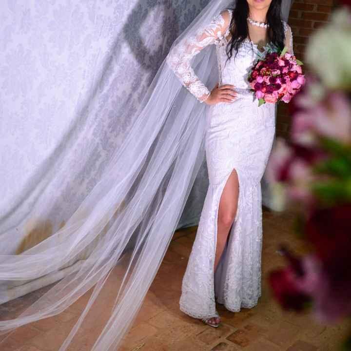 Vendo meu vestido de noiva - 17