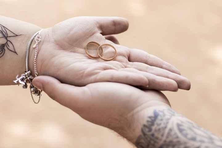 📸 Poste uma foto exibindo o seu anel de noivado ou aliança de casamento - 3
