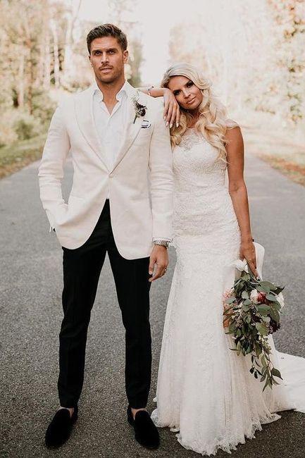 O que vocês acham de noivo de branco? #janeirobranco 3