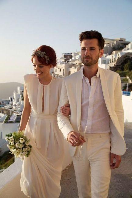 O que vocês acham de noivo de branco? #janeirobranco 5
