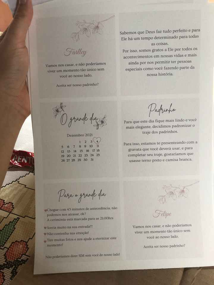 Manual dos padrinhos - 2