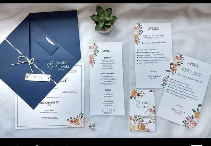 Envelope de convite - 3