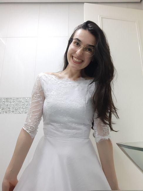 Diy- Vestido de noiva 💕👰🏻 1