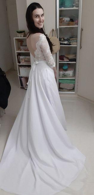 Diy- Vestido de noiva 💕👰🏻 2