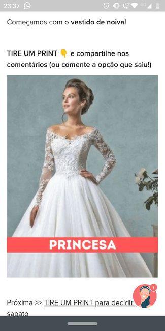 TIRE UM PRINT para decidir o vestido 26