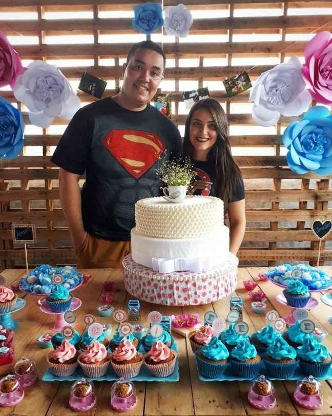 Noivos Super Man e Mulher Maravilha hahaha