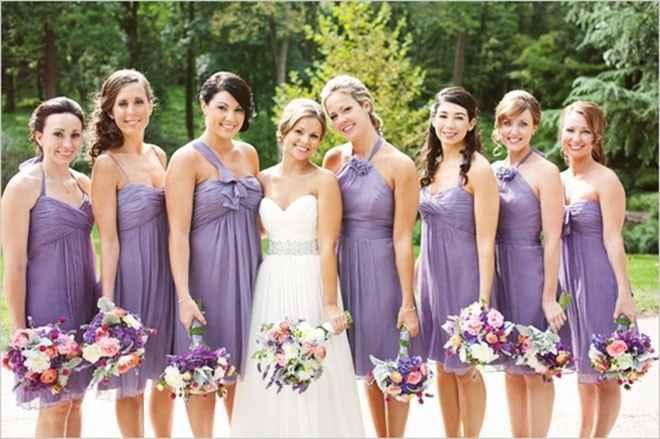 Padronização dos vestidos