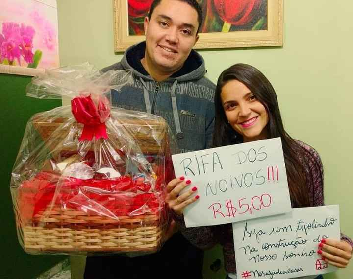 RIFA DOS NOIVOS! Thiago e Teresa