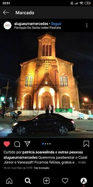 Indicações de igrejas - 1