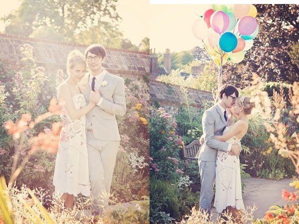 Casal com balão!