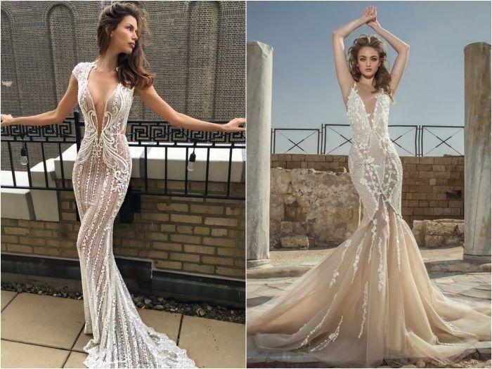 10 vestidos de noiva com forro nude
