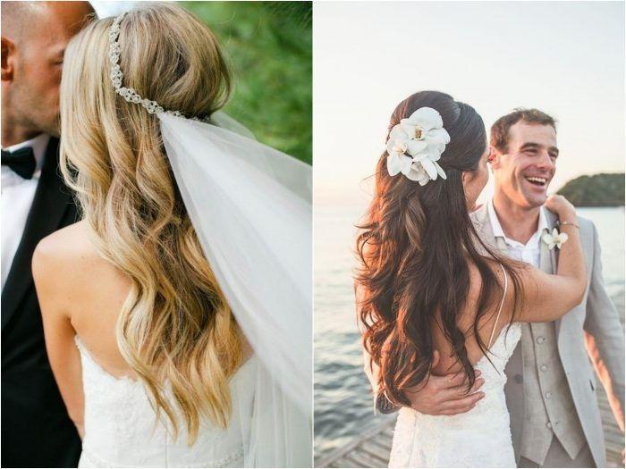 Noiva de cabelo solto 1