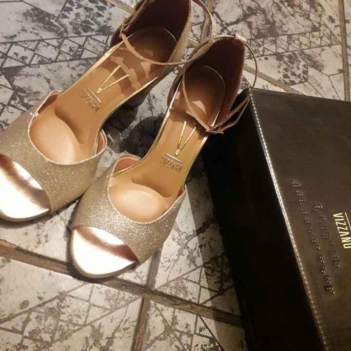 Meu sapato de noiva 🥰👠 #falta39dias - 1
