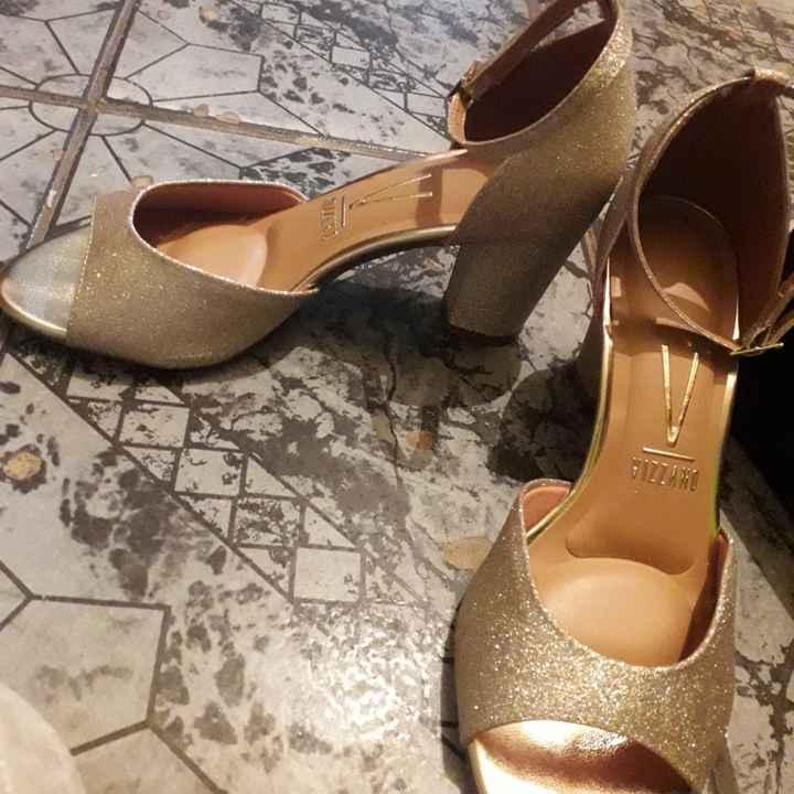 Meu sapato de noiva 🥰👠 #falta39dias - 2