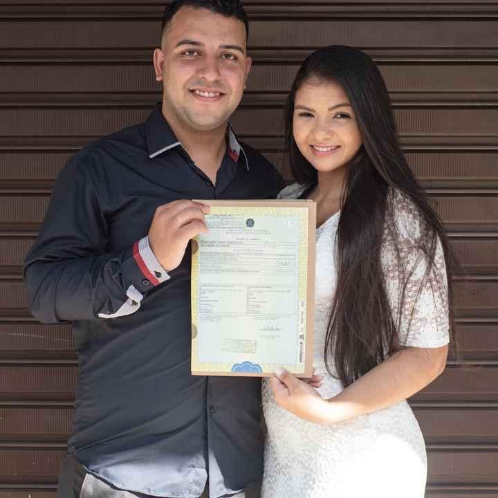 Casamos no civil! 🥰❤ #testemunho - 1