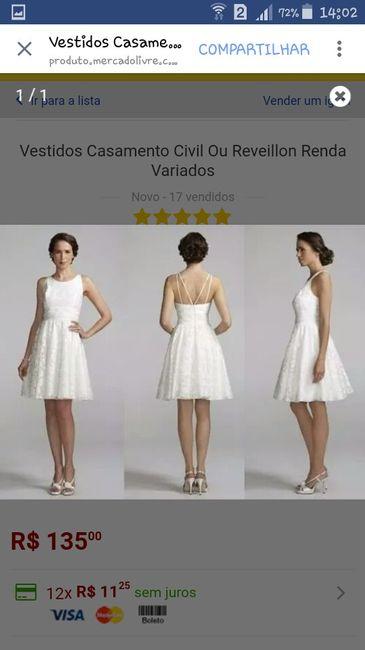 5db96047a #votação vestido casamento civil