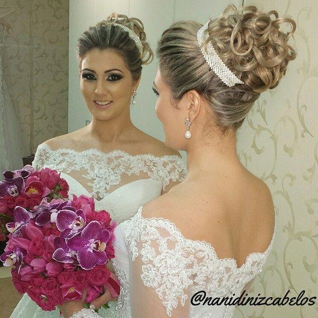 Populares Dicas de penteados para noivas! VB43