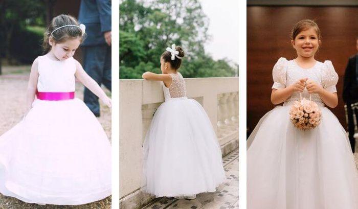 10b7d87247ca Vestido de Daminha: Como escolher? #dicas 1