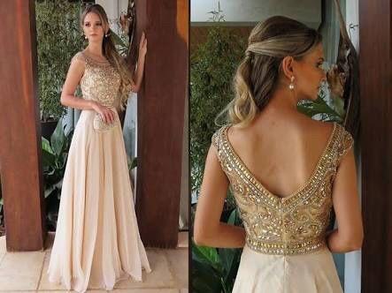 871849c6b29 Madrinhas com vestido dourado! 4
