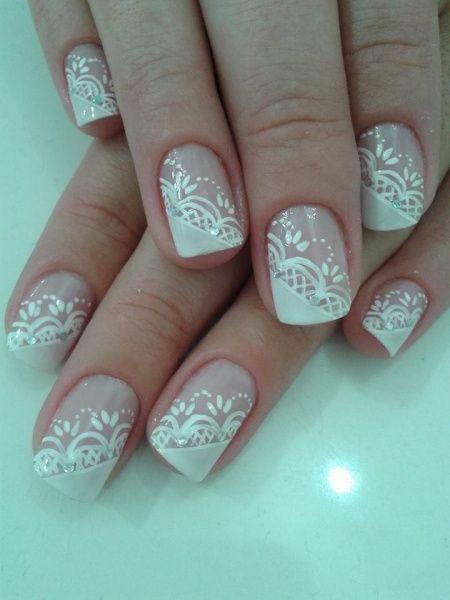 Unhas decoradas com flores 2014 - Como Fazer as unhas