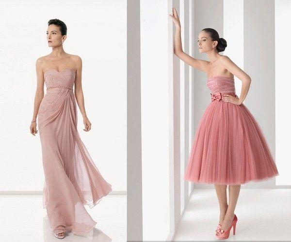 Muito Cor de vestido para minhas madrinhas - rosa cha JP37