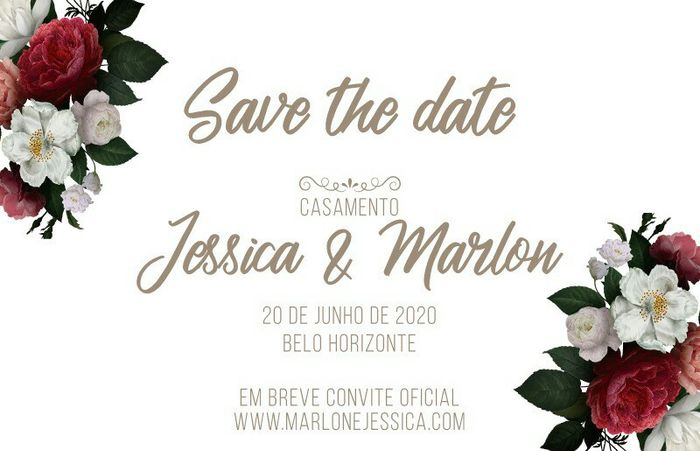 Nosso Save the Date - 1