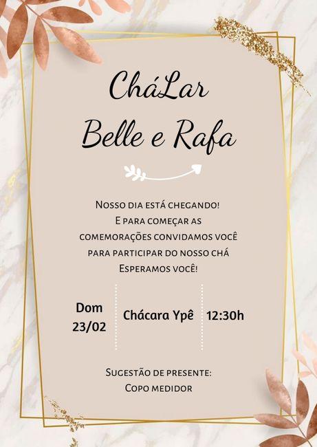 Saga do Chálar: O Convite #vemver 1
