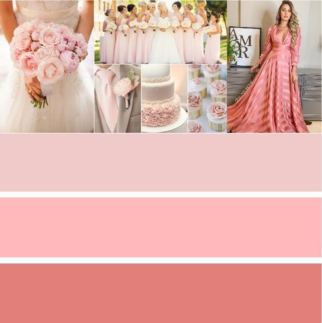 Paleta de Cores Rosa