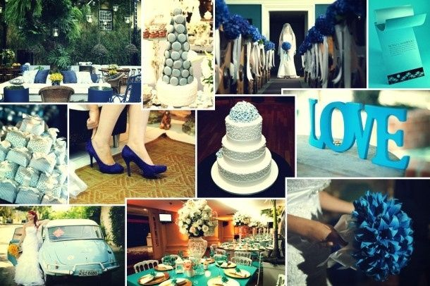 decoracao casamento azul turquesa e amarelo : decoracao casamento azul turquesa e amarelo:ou do salão ou até mesmo do campo,ou seja,do local onde o casamento