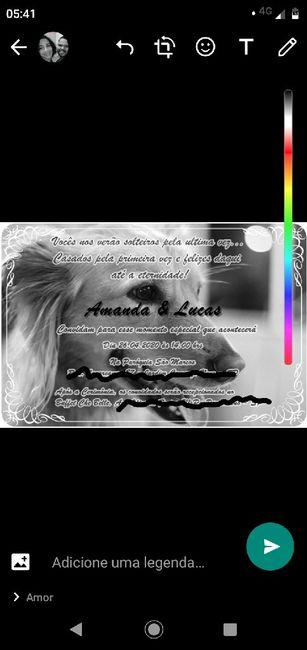 Convite - 1