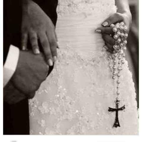 Terço da Noiva!! Casamento Católico 🤵💒👰 - 1