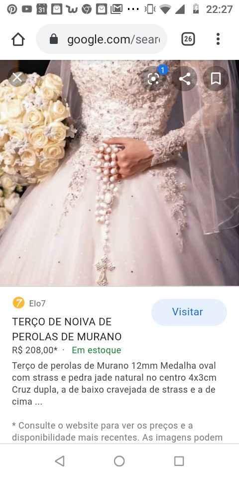 Terço da Noiva!! Casamento Católico 🤵💒👰 - 3