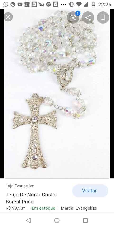 Terço da Noiva!! Casamento Católico 🤵💒👰 - 4