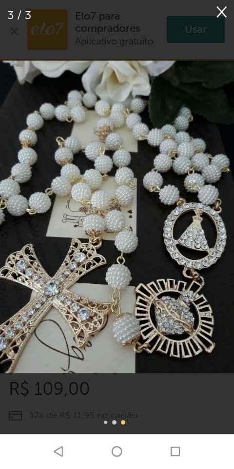 Terço da Noiva!! Casamento Católico 🤵💒👰 - 5