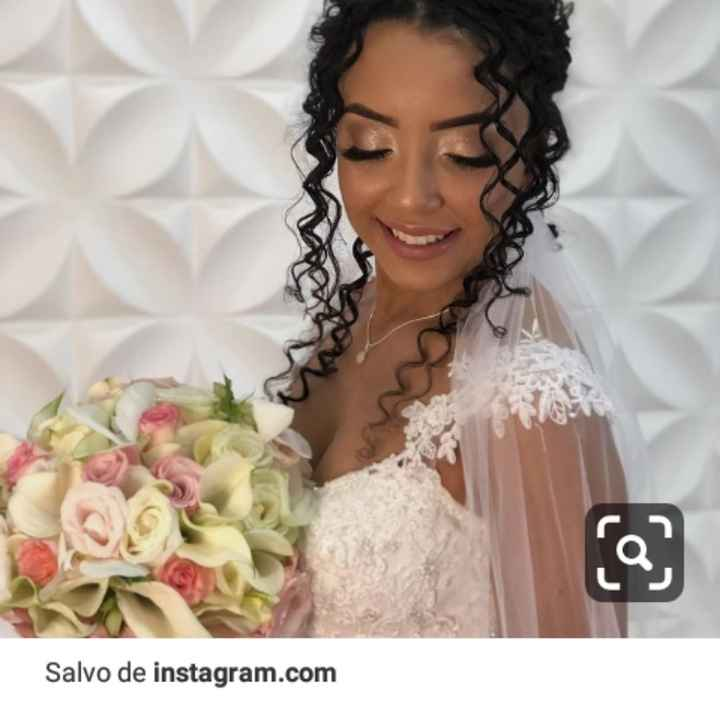 Penteado da noiva 👰🏻 - 1