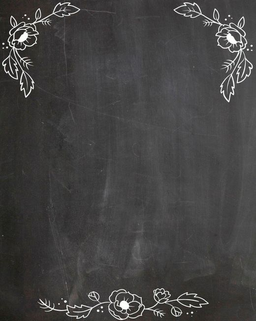 Favoritos Chalkboard (quadro negro)! para quem quiser! #vemcomigo QX01