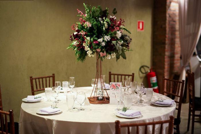 #casei Os detalhes da minha Decoração Marsala e Rosa! 9