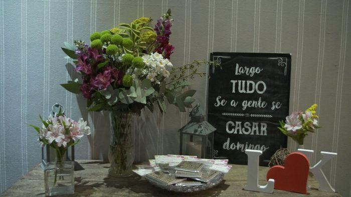 #casei Os detalhes da minha Decoração Marsala e Rosa! 7
