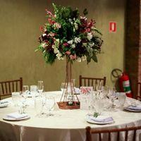 Decoração da mesa dos convidados.. como ficou? - 2