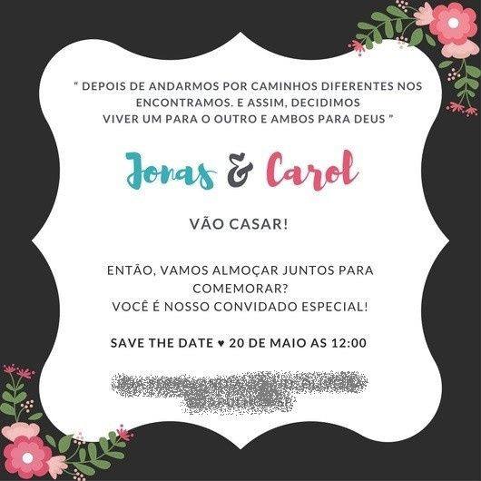 Tag Suspiros De Amor E Convite Whats Casamento Civil Vemver