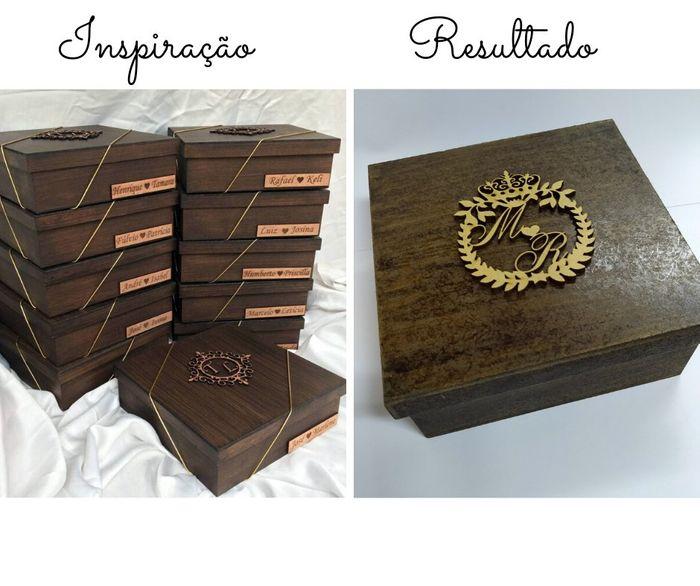 Caixa dos Padrinhos - diy 2