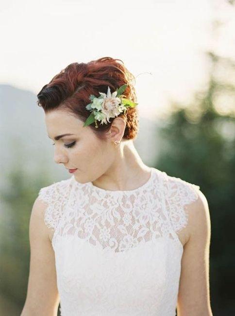 Noivas de cabelo curto 4